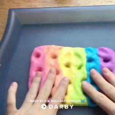 Rainbow Slime Recipe That Will Have You Playing with Slime for Days #darbysmart #rainbowslime #asmr #fluffy #forkids #unicorn