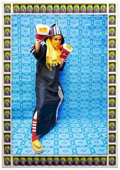 La salle de gym des femmes arabes   The Creators Project