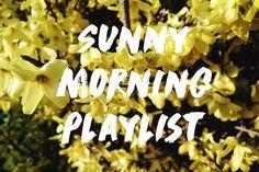 'S ochtends na lange donkere winterdagen is ze er de gouden zon die tussen mijn witte gordijnen naar binnen straalt. En op dat moment begint alles te stralen. Bijna dansend word je wakker en waarom niet met passende muziek. En van die muziek heb ik een playlist gemaakt.  Sunny morning playlist
