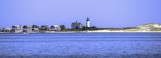 View of Sandy Neck Lighthouse in Barnstable