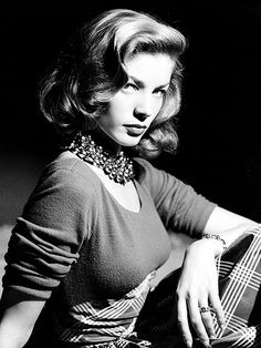 """""""I always thought I had crooked eyebrows and crooked teeth. That's why I never understood why people called me a beauty."""" – Lauren Bacall   Lauren Bacall"""