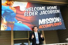 SUPER missionary banners for those super missionaries out there.