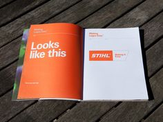 STIHL - Making It Easy Brand Guidelines on Behance