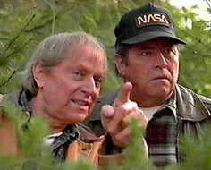 Holling and Maurice plot a strategy. Their friendship goes back many years. Northern Exposure