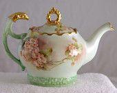 Konvička na čaj * porcelán ručně malovaný a zdobený