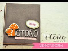 Scrapbooking Minibook - Otoño - Papel Creativo TV