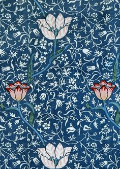 "gnossienne: """"Medway, designed by William Morris for Morris & Co "" """