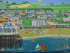Artist Erica Sturla. Her work can be found at Creative Waves Worthing Art on the Pier