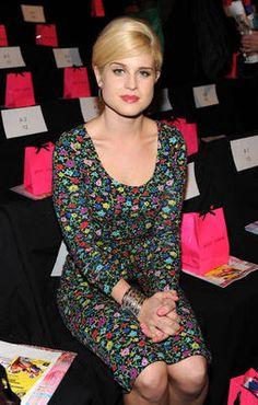 Betsey Johnson Posy dress as seen on Kelly Osborne at the fashion show