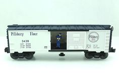 O Lionel Archive Collection Pillsbury 3428 Operating Box Car 6 26806   eBay