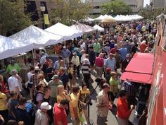 The Sarasota Farmer's Market! They have a vendor there that sells coconut drinks right in the coconut!