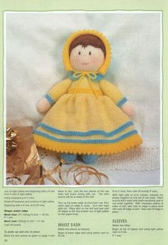Knitting Patterns Free, Free Knitting, Jean Greenhowe, Cast Off, Bird Toys, Christmas Knitting, Knitted Dolls, Stuffed Toys Patterns, Diy And Crafts