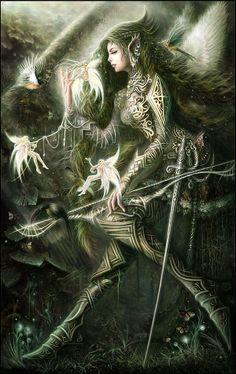Female Angel Warriors of God | Carlos Morales - Angel Warrior.jpg