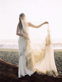 Natural Coastal Wedding Ideas via oncewed.com