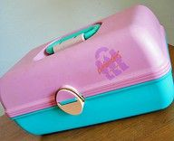 Caboodles - I still have one and USE IT!  LOL!!