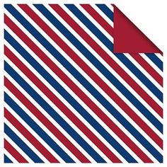 4th of July Striped Lunch Napkins - 18 ct