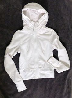 A Lululemon Mens XXL Full Zip Black Stretch Athletic Casual Jacket ...