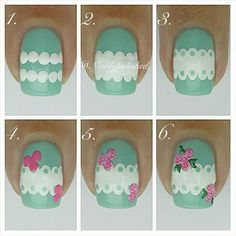 Tutorial for my mani inspired by @phenomenail ☺ /Elli
