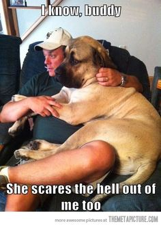 Women can be really scary…