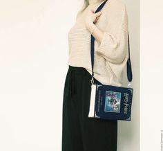 Женские сумки ручной работы. Гарри Поттер: Хлопковая сумка-книга. KrukruStudio…