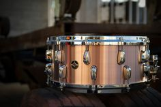 6.5X14 Copper Plate Snare Drum, from the Q Drum Co.