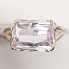Kunzit Ring