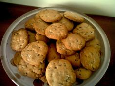 Cookies com pepitas de chocolate  Para encomendas visite: https://www.facebook.com/encomendasapieceofcake
