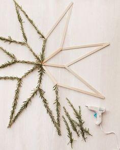 Decoraciones DIY minimalistas para esta Navidad