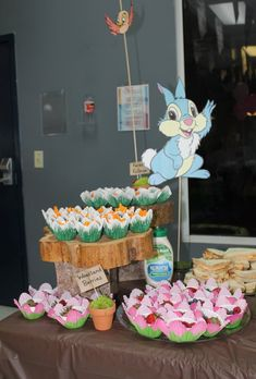 Bambi and thumper food party snacks