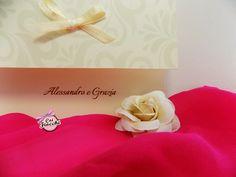 Una partecipazione di nozze elegante e delicata