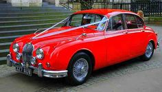 Jaguar MKII... Ooh now that's a contender for the wedding car...