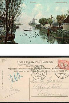 Het Tweede Valdeurspad #Zaandam in 1907