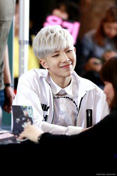 Rap Monster : )
