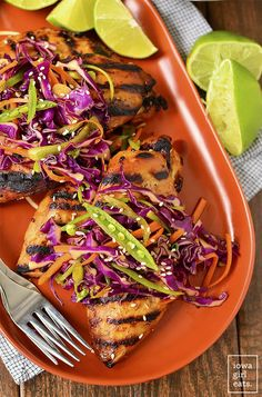 Asian Grilled Chicke