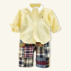 Layette-baby ralph lauren!! Love these mini outfits