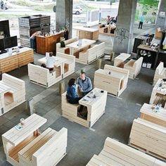 Pop up crates