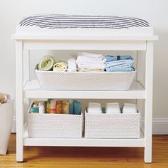 White Change It Up Changing Table @ Land of Nod