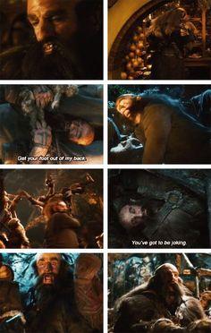 besides Thorin he is my favourite Dwarf, then filli, then killi, ori, ...