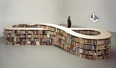 Endless bookshelves