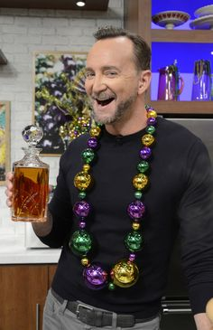 I got the best beads for Mardis Gras! Photo credit: ABC/Ida Astute