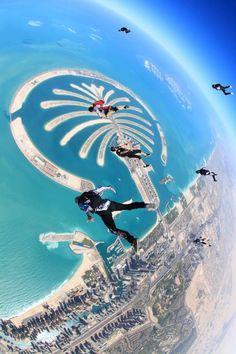 Sky Dive Dubai Palm Jumheira, done that