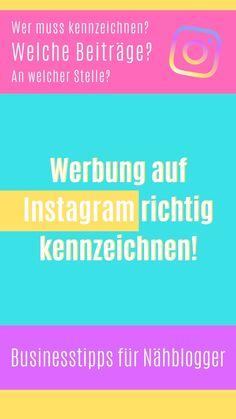 Werbung auf Instagram richtig kennzeichnen   ELIZA SCHWARZ Influencer, Instagram, Advertising, Tips, Black