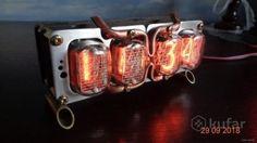 Nixie Tube Clock Kit IN-12 à six chiffres tubes Date Température