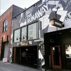 The Runaway, Seattle WA, featuring doors manufactured by Door Innovations. Folding Patio Doors, Running Away, Seattle, Innovation, Restaurants, Windows, Luxury, Wall, Outdoor