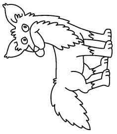 Fox In Socks Homework Coloring Sheet