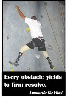 Sports change lives! www.dsusa.org Disabled Sports USA Robot Leg, Recreational Therapy, Disabled People, Adventure Activities, Sports Activities, Reality Check, Special Needs, Rock Climbing, Disability