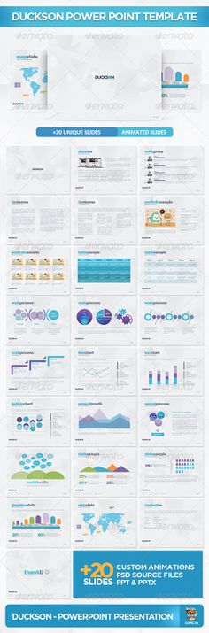 Presentation Templates - Duckson PowerPoint Presentation Template   GraphicRiver