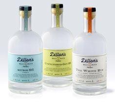 Dillon's Small Batch Distillers,  Designed by Insite Design