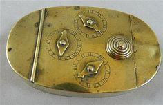 A Georgian Prescot bass combination lock snuff box #antique #vintage #box