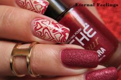 Eternal Feelings: REVIEW: UberChic Beauty Nail Stamp Plates 1 - 03